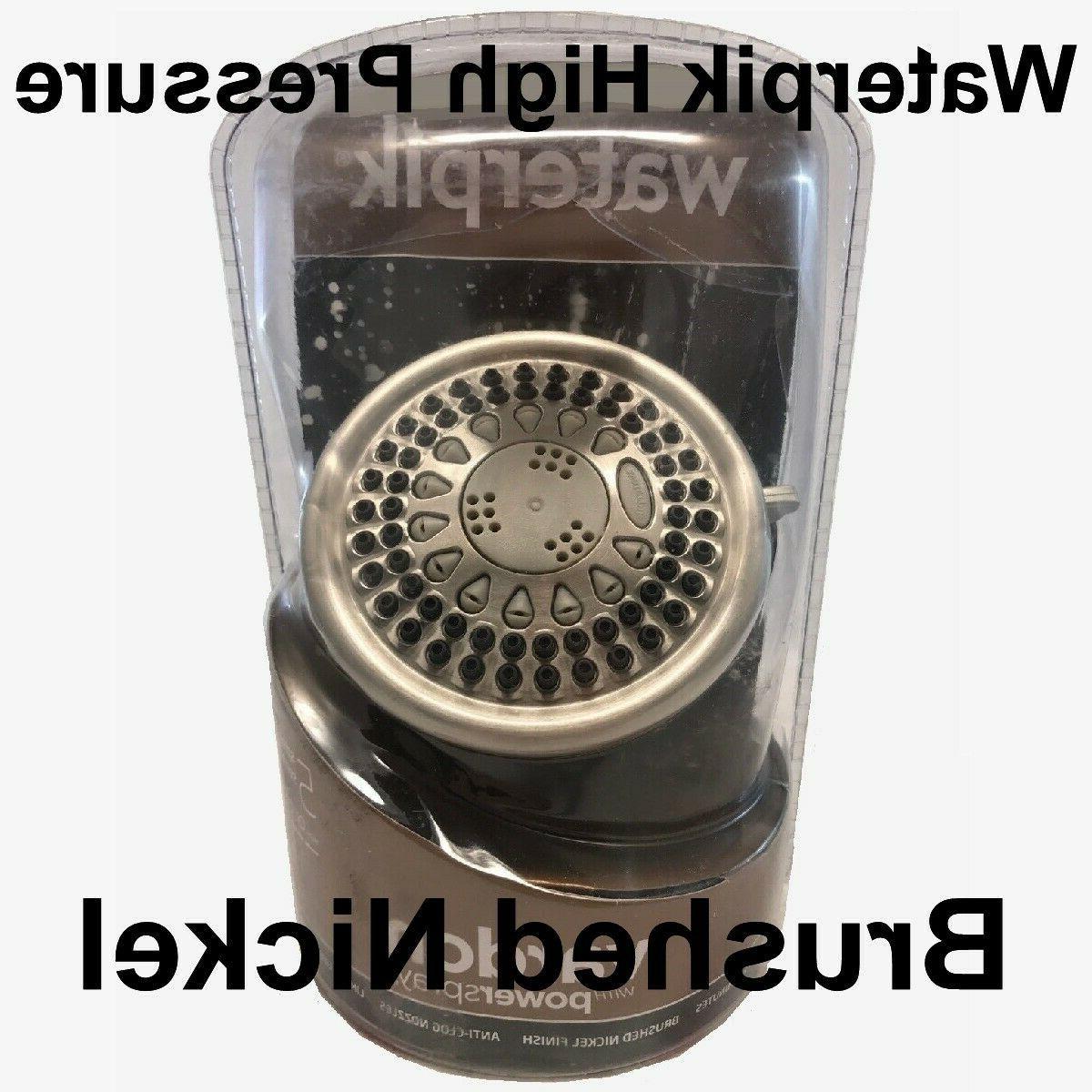 vardon 5 showerhead brushed nickel