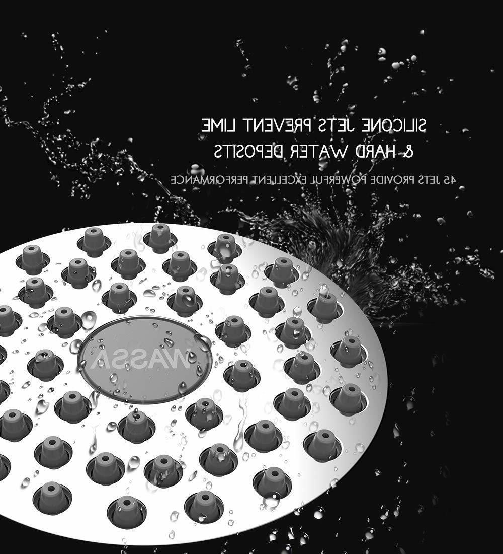 WASSA Pressure Head - 3″ Anti-leak Fixed Showerhead
