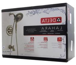 Delta Lahara In2ition 2-In-1 1-Handle 5-Spray Tub and Shower