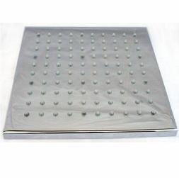 ALFI brand  LED5001 8-Inch Square Multi Color LED Rain Showe