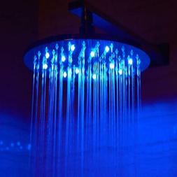 ALFI LED5006 10 Round Multi Color LED Rain Shower Head