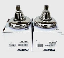 Kohler K-13137-SN Pinstripe Polished Nickel Shower Heads Br