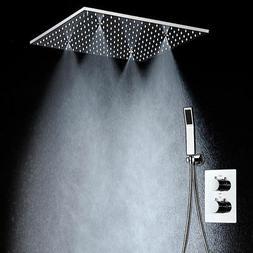 Modern Shower Ceiling 20'' Showerheads Panel 304 Stainless S
