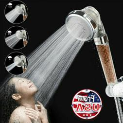 Monaki Ionic Filtration Shower Head 3 Mode High Pressure Sto