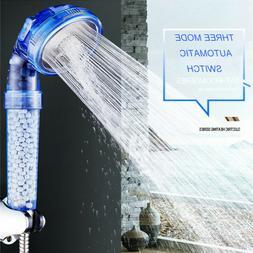 Monaki Ionic Filtration Shower Head 3 Mode High Pressure Sto