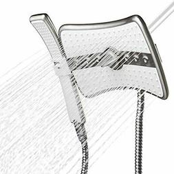 AKDY Multi-Function Deluxe Massage Rainfall Shower Head & Wa