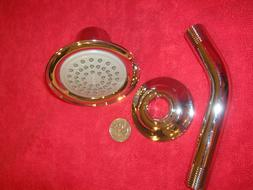 ~NEW~ Moen Kingsley Shower Head & Trim ~ 2.5 GPM~ Shiney Chr