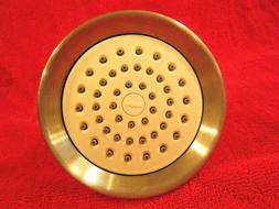 ~NEW~ Moen Kingsley Shower Head ~ Brushed Nickel ~ 4 3/8'' W