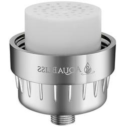 AquaBliss High Output 8-Stage Shower Filter - Reduces Dry It