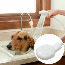 Pet Dog Shower Spray Bath Tub Sink Faucet Attachment Washing