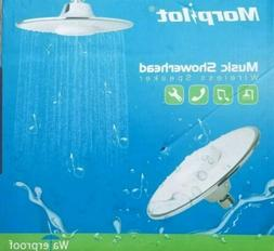 Morpilot Shower Head, Polished Chrome Top Spray Rain Shower