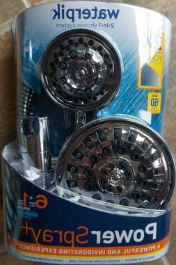 WaterPik PowerPulse 6+1 Dual Shower Head - XAT-133-643T Chro