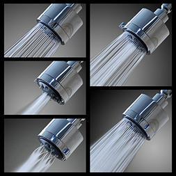 High Pressure 5 Setting Shower Head – Wall Mount – Bathr