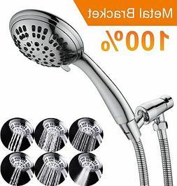 G-Promise High Pressure Shower Head 6 Spray Setting Hand Hel