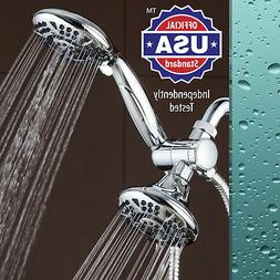 AquaDance High Pressure 3-way Twin Shower Combo Lets You Enj