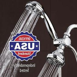 AquaDance High Pressure 3-way Twin Shower Combo Lets You Enj