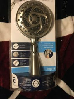 MOEN Propel 5-Spray Handheld Showerhead in Spot Resist Brush