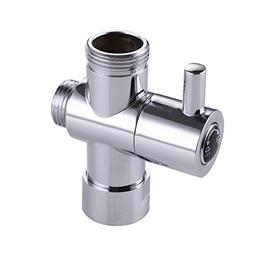 """KES PV1 SOLID BRASS 3-Way Diverter Valve 3/4"""" and G 1/2 Show"""