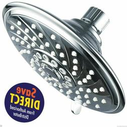 HotelSpa Extra-Large 6-Inch Rain Shower Head for Exceptional