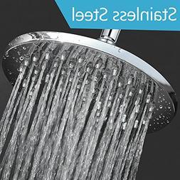 Rain Shower Head 8 Inch Showerhead Stainless Steel Overhead