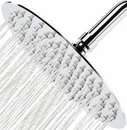 Rain Shower Head Ultra Thin Design 8 Inch High Pressure Roun