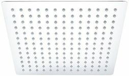 ALFI brand RAIN12S 12-Inch Solid Square Ultra Thin Rain Show