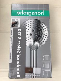 Hansgrohe Raindance S120 White Chrome Showerhead