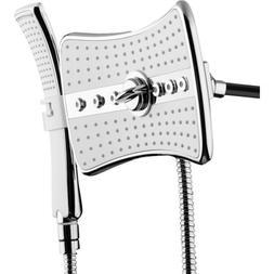 Rainfall Massage/Jet Dual Shower Head