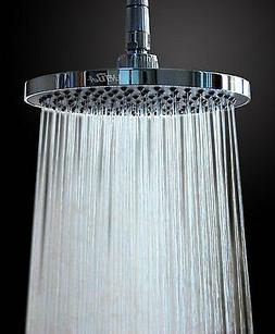 8 Inches  Rainfall Shower Head Fixed Mount with Swivel Metal