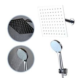 WEIXINTECH 8-Inch Rainfall Shower Head / Handheld Combo With