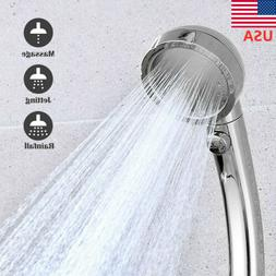 Rainfall Shower Head - Stainless Steel Round Chrome Look USA