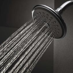 Delta Faucet Single-Spray Touch-Clean Shower Head, Chrome RP