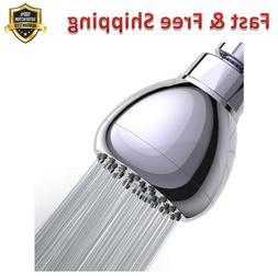 Shower Head 3 Anti Clog Anti Leak Fixed Chrome Shower Head B