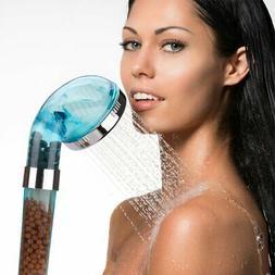 90MK Shower Head,High-Pressure Water- Saving Ionic Handheld