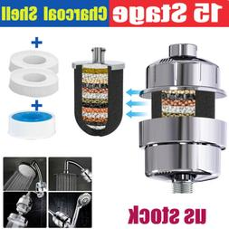 Shower Head Filter Water Purification Filters 15 Stage KDF-5