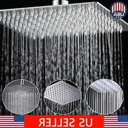Shower Head, Fixed Rainfall Showerheads 8 Inch Full Stainles