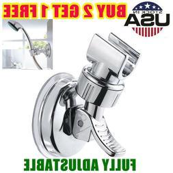 Shower Head Handset Holder Bathroom Wall Mount Adjustable Su