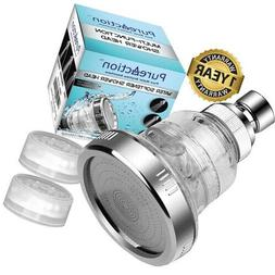 New Shower Head Hard Water Softener with 5 Function Spiral I
