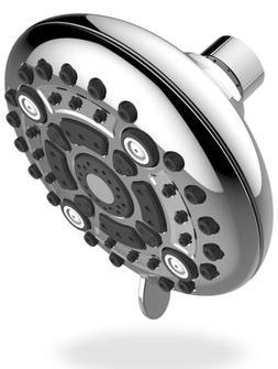 Shower Head - High Pressure High Flow Fixed Chrome 3 Inch Sh