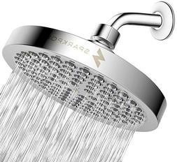 SparkPod High Pressure Rain Shower Head - Luxury Modern Chro