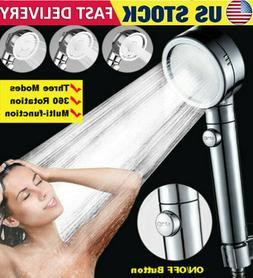 Shower Head Ionic Handheld High-Pressure Water-Saving Filtra