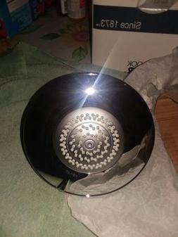 Kohler Shower Head .multi-function.polishes chrome.