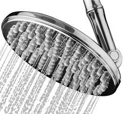 "Shower Head | Rainfall High Pressure 9.5"" w/Adjustable Ext"