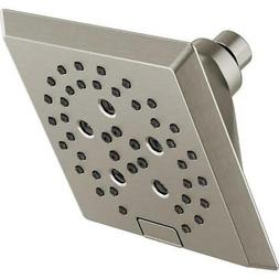 Delta Shower Head Stainless 5-Spray Rain Stainless Steel Ful