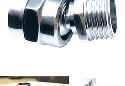 Shower head Swivel adapter,ball joint povit for overhead/han