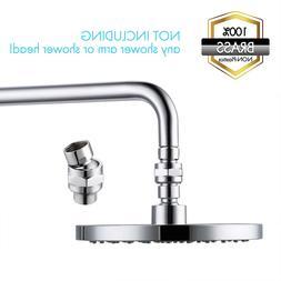 Shower Head Swivel Ball Adapter-Brass Ball Joint Adjustable