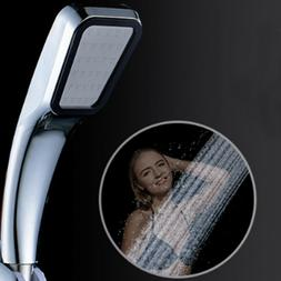 Shower Head with Long Hose Chrome Face Handheld Bathtub Fauc