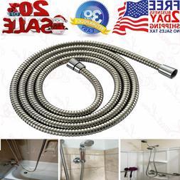 Shower Hose Brushed Nickel Extra Long Stainless Steel Handhe