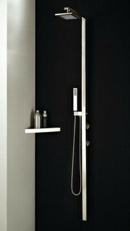 Gessi Shower System 27405149 Rettangolo Rain Head + Body Spr