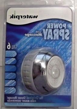 WaterPik SM-620 Original Shower Massage 6-Setting Fixed-Moun